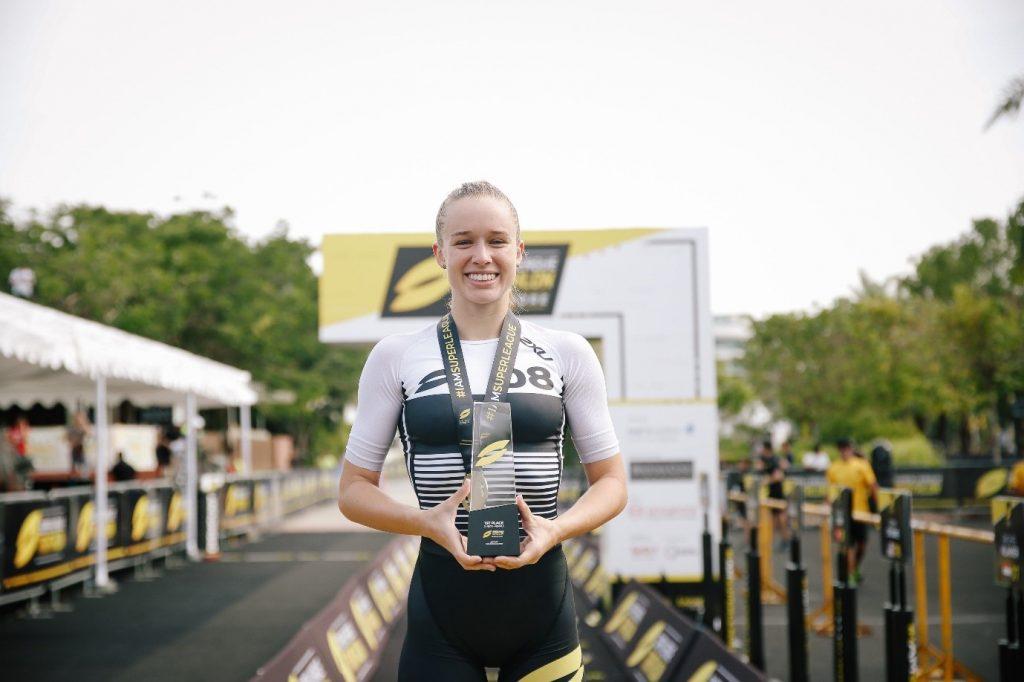Triathlon Champion Volunteers to Coach