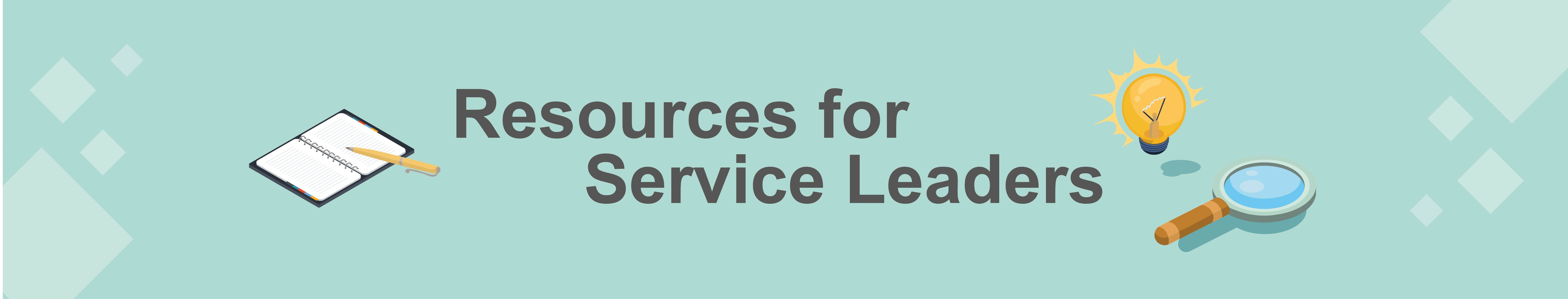 Resources for Services Leaders