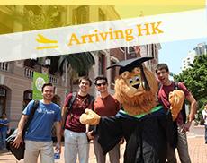 Arriving HK
