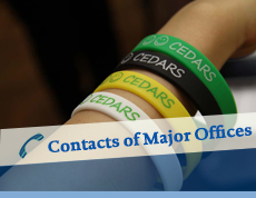 Contacts of Major Offices