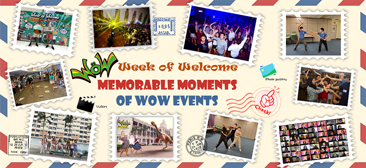 Banner Slide – Memorable Moments of WOW Events