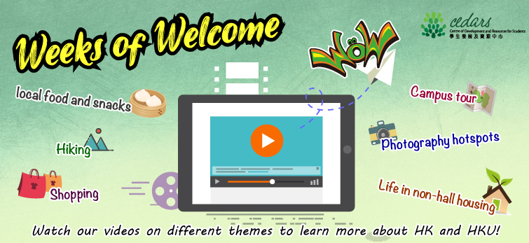 Banner Slip – Videos for Weeks of Welcome