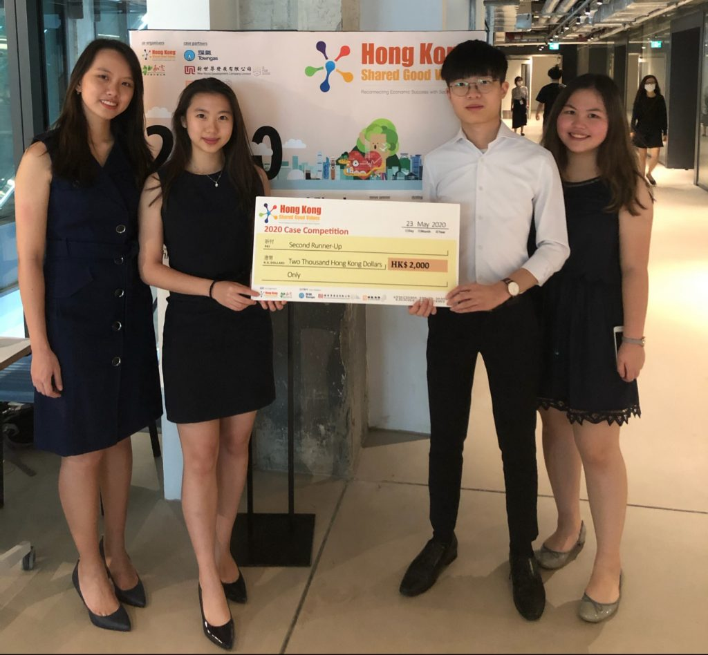 Hong Kong Shared Good Values 2020 Case Competition